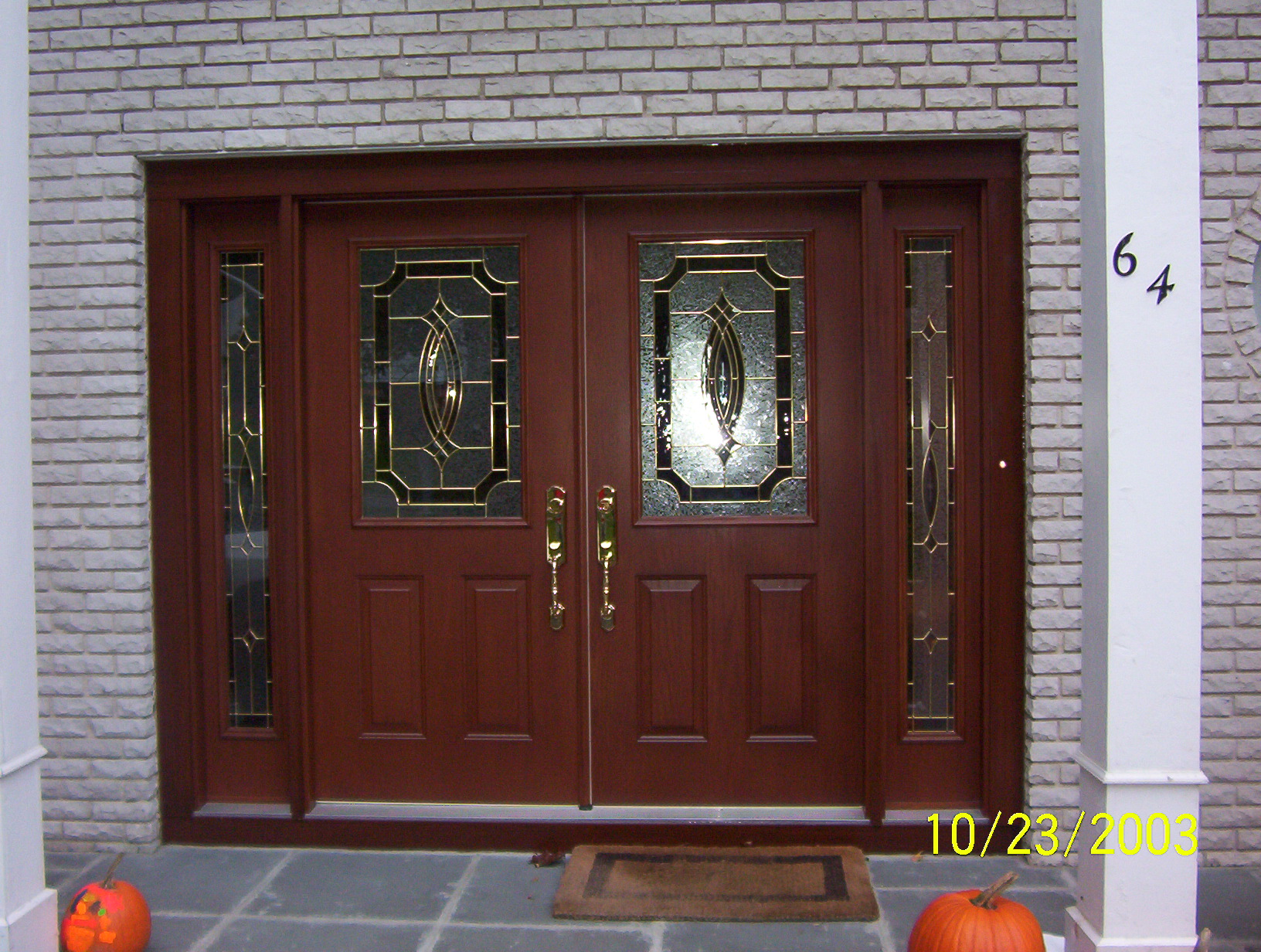 1232 #B34318 Therma Tru Fiberglass Doors Therma Tru Steel Doors pic Steel And Glass Doors 41311632